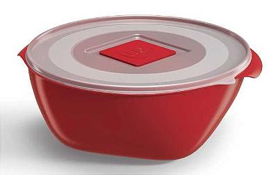 Pote Multiuso Premium 350ml Vermelho Sólido - UZ