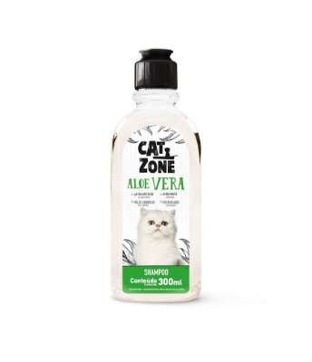 Shampoo Aloe Vera Cat Zone 300ml - Procão