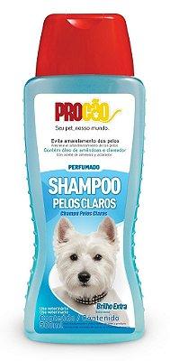 Shampoo Pelos Claros Para Cães e Gatos 500ml - Procão