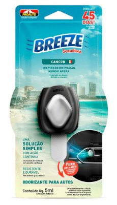 Odorizante Breeze Sensations Cancun 5ml - Proauto