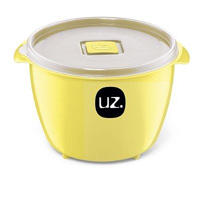 Pote Multiuso Premium 1,5 Litros Amarelo Claro Sólido - UZ