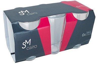 Jogo Copo SM Cairo 350ml Com 6 unidades - Nadir Figueiredo