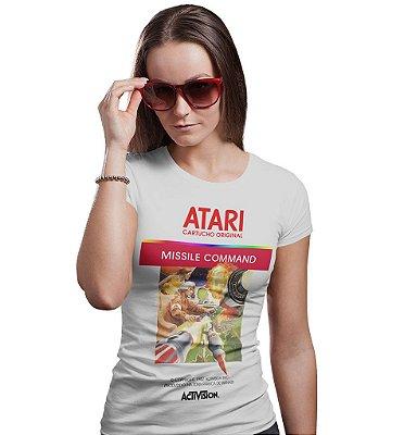 Camiseta Atari - Missile Command