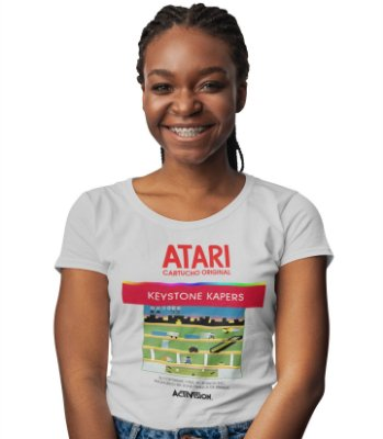 Camiseta Atari - Keystone Kapers