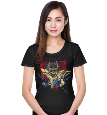 Camiseta Cavaleiros do Zodíaco – Skull Ikki