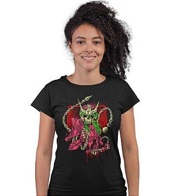 Camiseta Cavaleiros do Zodíaco – Skull Shun