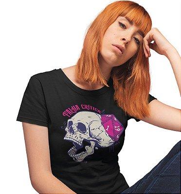 Camiseta Dungeon Geek – Falha Crítica Preta