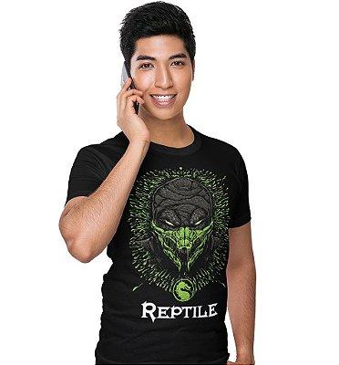 Camiseta Mortal Kombat – Reptile