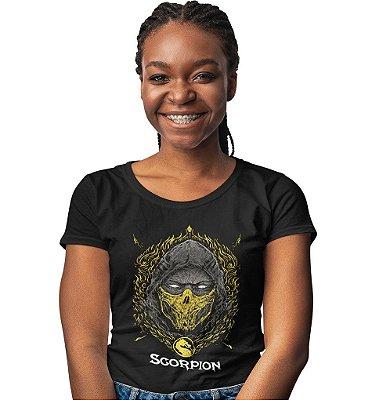 Camiseta Mortal Kombat – Scorpion