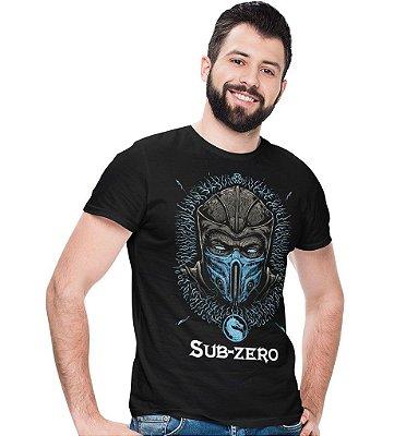 Camiseta Mortal Kombat – Sub-Zero
