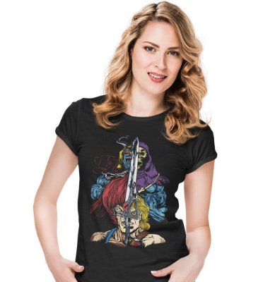 Camiseta Heróis e Vilões
