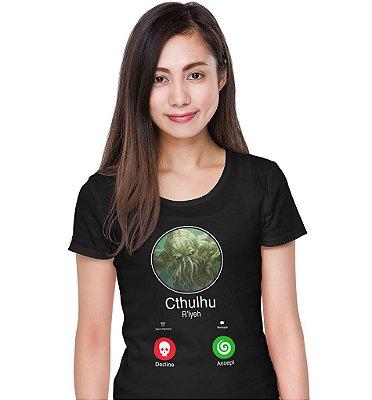Camiseta O Chamado de Cthulhu