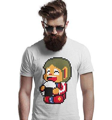 Camiseta Alex Kidd 8-Bit
