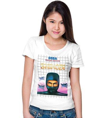 Camiseta Master System – Shinobi