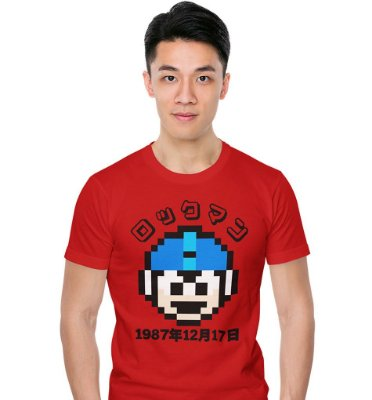 Camiseta Megaman 1987