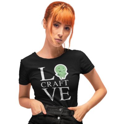 Camiseta Call of Cthulhu – I LoveCraft