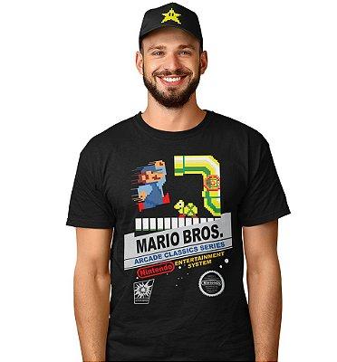 Camiseta Mario Bros Arcade Classic