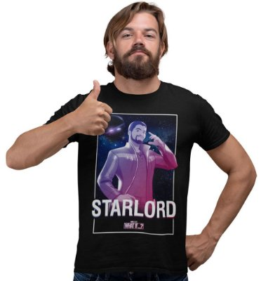 Camiseta What If…? - Starlord