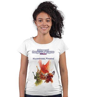 Camiseta AD&D - Manual dos Monstros