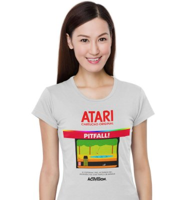 Camiseta Atari - Pitfall