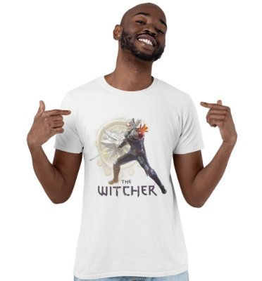 Camiseta The Witcher - Geralt of Rivia