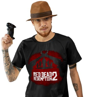 Camiseta Red Dead Redemption II