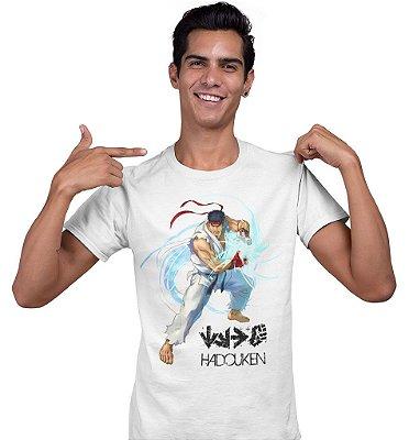 Camiseta Street Fighter - Hadouken