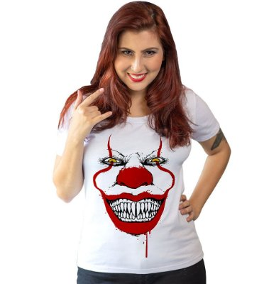 Camiseta It - Pennywise Face