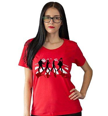 Camiseta Os Assassinos na Abbey Road