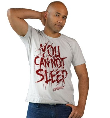 Camiseta A Hora do Pesadelo - You Cannot Sleep