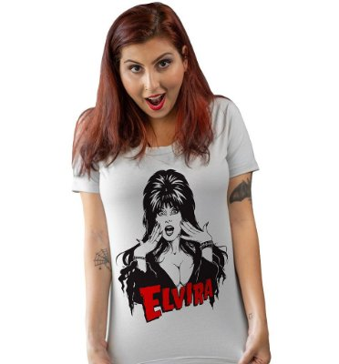 Camiseta Elvira, A Rainha das Trevas