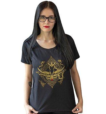 Camiseta Cavaleiros do Zodíaco - Armadura de Ouro de Escorpião