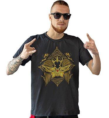 Camiseta Cavaleiros do Zodíaco - Armadura de Ouro de Sagitário