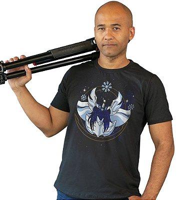 Camiseta Cavaleiros do Zodíaco - Armadura de Cisne
