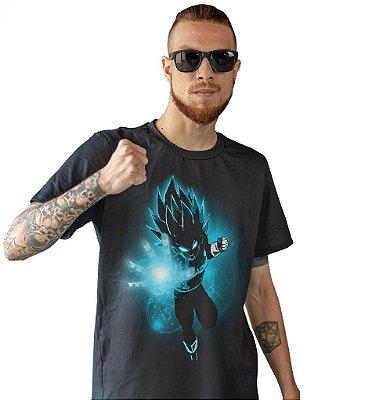 Camiseta Dragon Ball Super - Vegeta Super Sayajin Blue