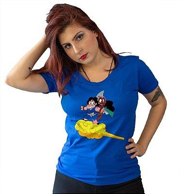 Camiseta Dragon Ball - Steven e Connie