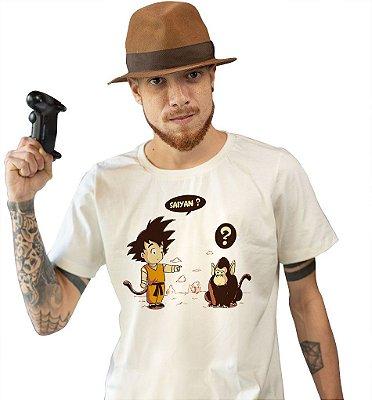 Camiseta Dragon Ball - Você também é um Sayajin?