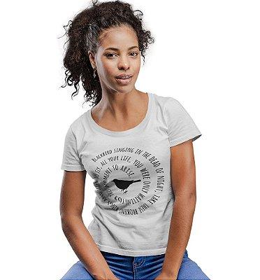 Camiseta Beatles - Black Bird