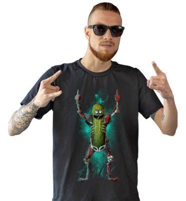 Camiseta Rick and Morty - Pickle Rick