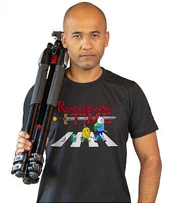 Camiseta Hora de Aventura - Roadcrossing Time