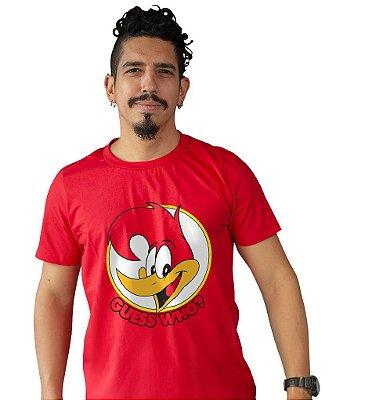 Camiseta Pica Pau - Guess Who?