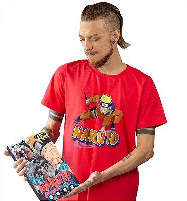 Camiseta Naruto - Ninja
