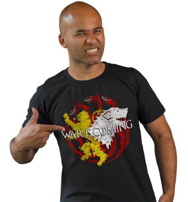 Camiseta Game of Thrones - War is Coming II