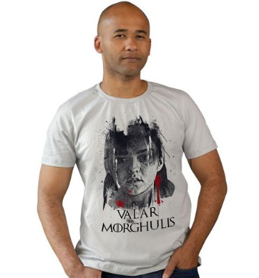 Camiseta Game of Thrones - Valar Morghulis