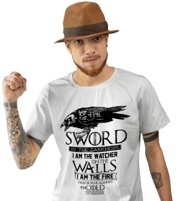 Camiseta Game of Thrones - Patrulha da Noite