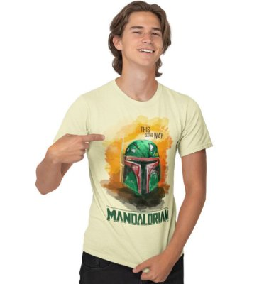 Camiseta The Mandalorian - This Is The Way.