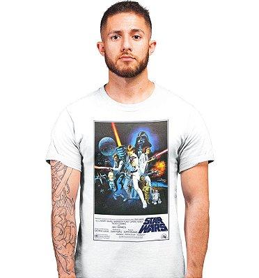 Camiseta Star Wars Ep. IV - Uma Nova Esperança