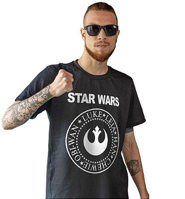 Camiseta Star Wars - Aliança Rebelde Ramones