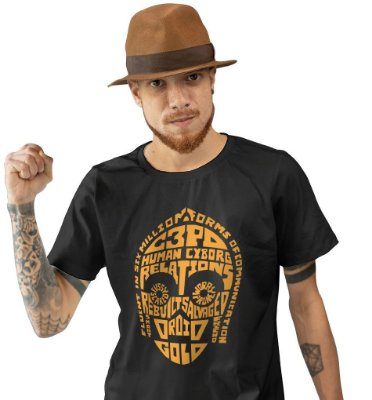 Camiseta Star Wars - C3PO