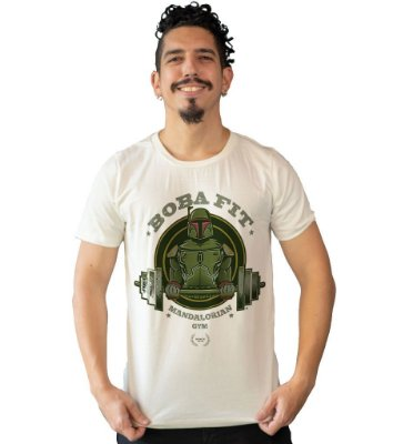 Camiseta Star Wars - Mandalorian Gym